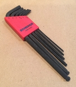 Hex Key Metric Wrench Set, Ball End