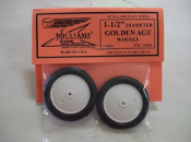 "Golden Age Wheels, 1-1/2"" dia., 1 pair"