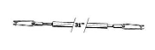 Nylon Steel Kwik-Rod Assembly (QTY/PKG: 1 )