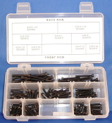 Socket Head Cap Screws Assortment: 2-56, 4-40, 6-32, and 8-32
