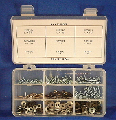 Servo Screws & Rubber Backed Washers Assortment: #1,2,3,4,6,8, a