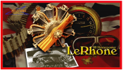 80hp LeRhone Rotary Kit, 1/6 Scale, 1 each