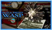 P&W Wasp Radial Kit, 1/8 Scale, 1 each