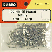 "Dubro T-Pins 1.00"" (100)"