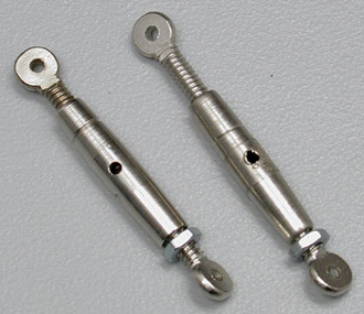 Dubro Steel Turnbuckle 1/4 Scale (2)