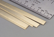 K&S Brass Strips - 36""