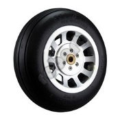 "Robart Aluminum - P51 Spoke - 1/4"" Axle"