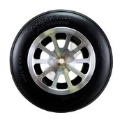 "Robart Aluminum - 10 Spoke - 1/4"" Axle"