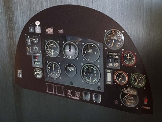 Spitfire Instrument Panel Decal Set