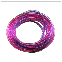 10' Pressure Tubing Red/Purple